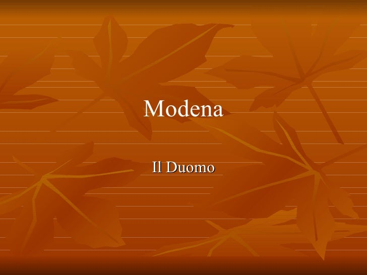 Modena: Duomo e Pinacoteca Kolbe