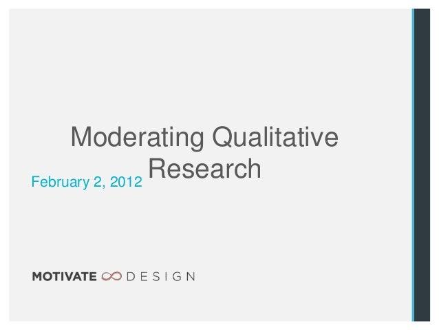 Workshop: Mindful Moderating