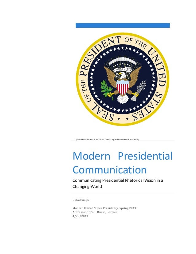 (Seal	   of	   the	   President	   of	   the	   United	   States,	   Graphic	   Obtained	   from	...