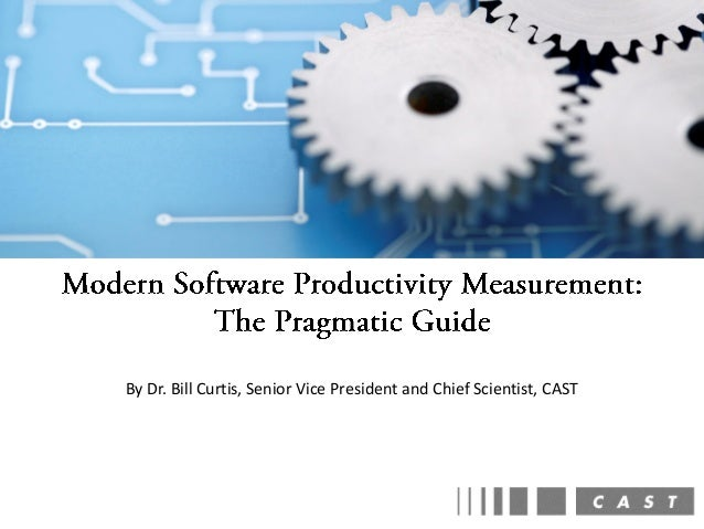 Modern Software Productivity Measurement: The Pragmatic Guide