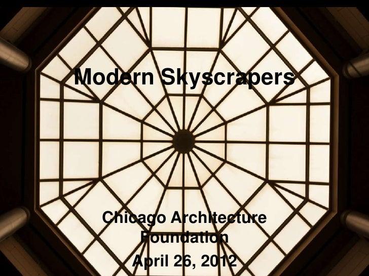 Modern Architecture Chicago