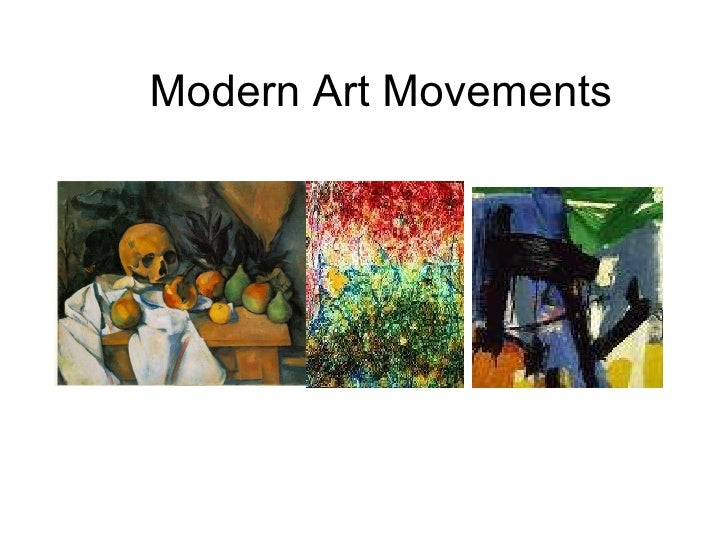 Modern Art Movements