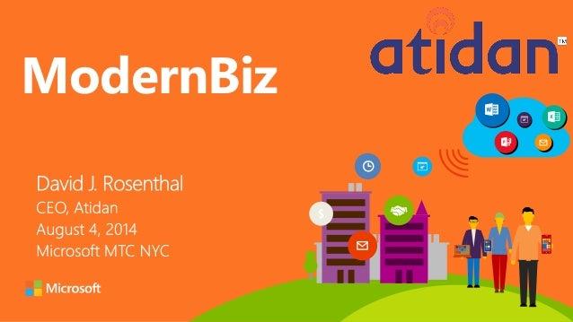 ModernBiz from Microsoft and Atidan