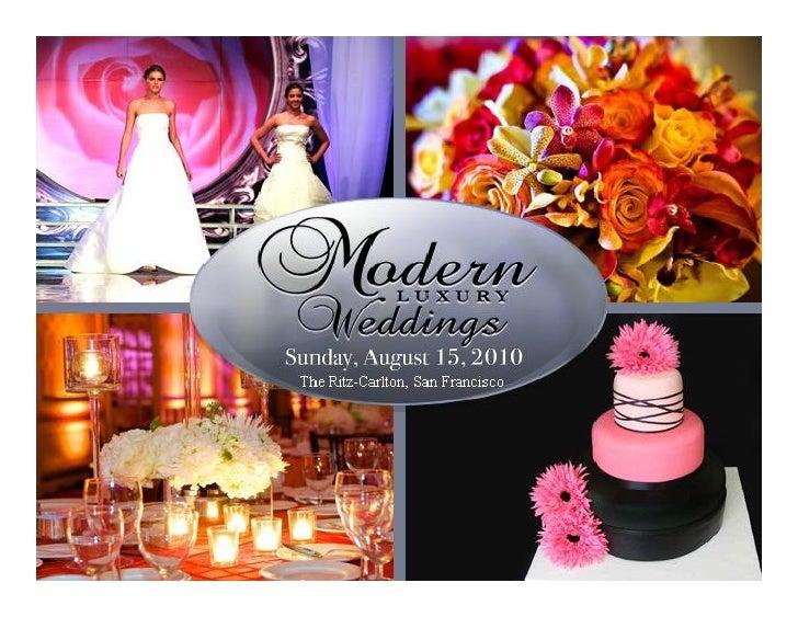 Modern Bridal Modern Luxury Weddings on STAR101.3 August 9th – 15th 2010     Presented To: Elisa Fisher  Presented By: Chr...