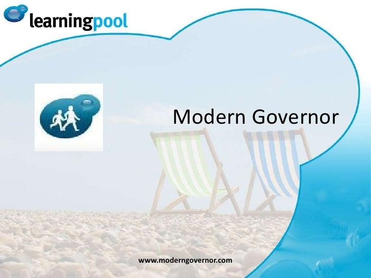 Modern Governor<br />www.moderngovernor.com<br />