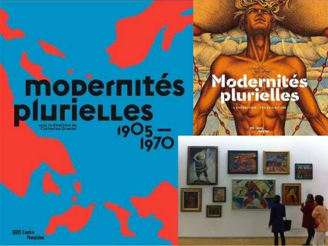 Modernidades Plurales en Centro Georges Pompidou