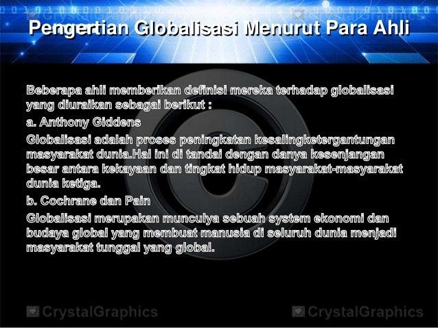 Modernisasi & globalisasi