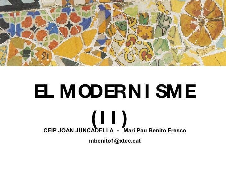Modernisme Pintura