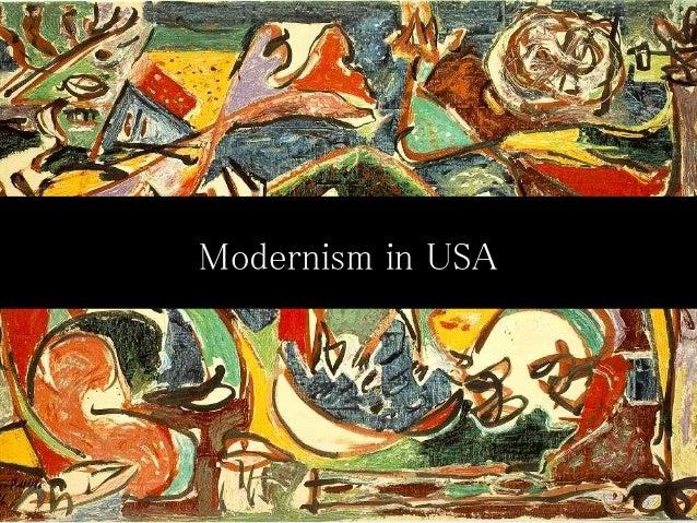 Modernism in USA