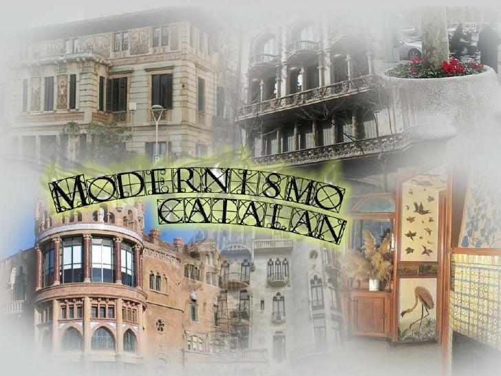 Modernismo bcn
