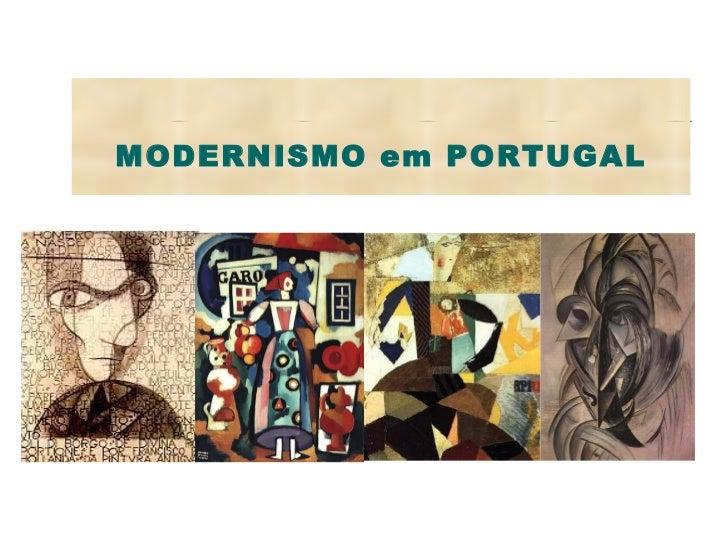 Modernismo em Portugal