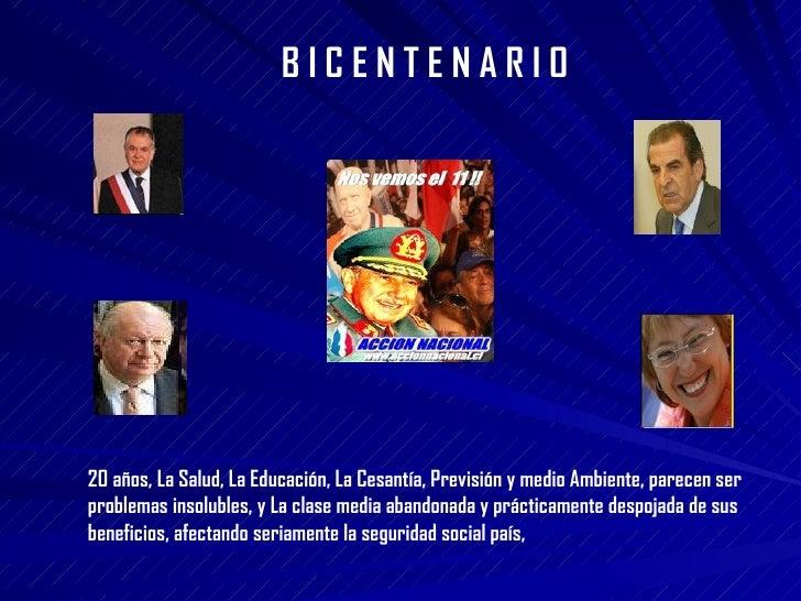 Modernizacion del Estado, bicentenario