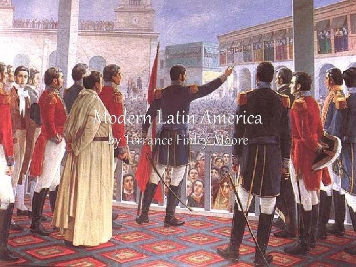 Modern Latin America by Terrance Finley-Moore