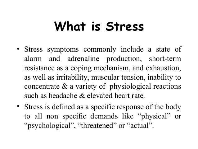 essay on stress working Work Stress
