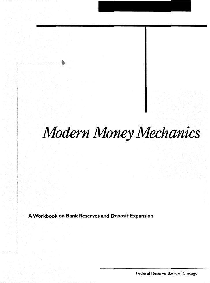 Modern Money Mechanics ΠΡΩΤΟΤΥΠΟ