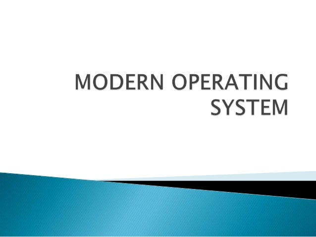       The operating system (OS) is the first thing loaded onto the computer -- without the operating system, a computer...
