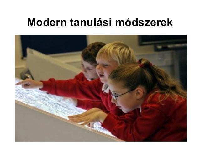 Modern tanulási módszerek