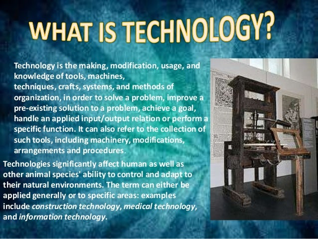 merits of science and technology