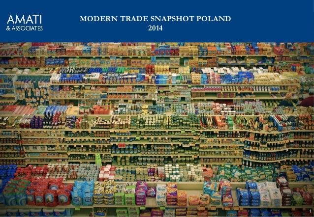 AMATI & Associates 1 MODERN TRADE SNAPSHOT POLAND 2014