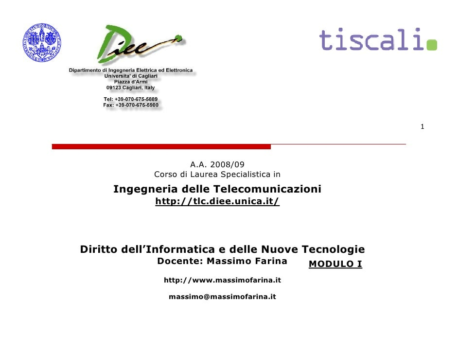 1                          A.A. 2008/09             Corso di Laurea Specialistica in      Ingegneria delle Telecomunicazio...