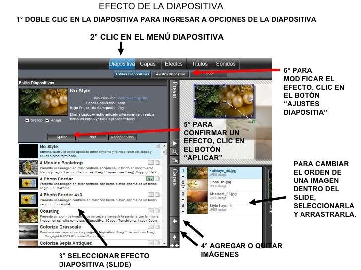 Modificar slider, Textura en textos