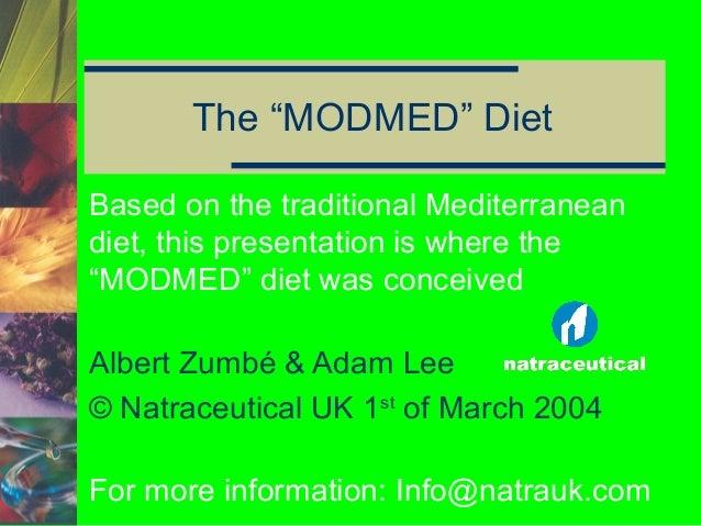 Mod med diet
