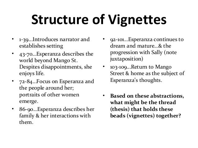 a vignette the bullets essay Persuasive essay definition a persuasive essay, also known as the argument essay, utilizes logic and reason to show that one idea is more legitimate than another idea it attempts to persuade a reader to adopt a certain point of view or to take a particular.