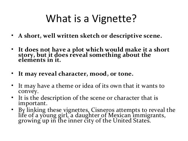 How to Write a Vignette