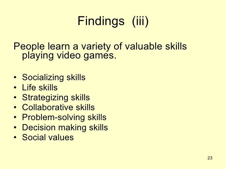 Engagement in Massive Multiplayer Online Game: learning tools, Benefits and Perception of skills learned?