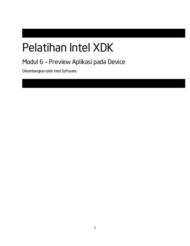 Modul 6   preview aplikasi pada device