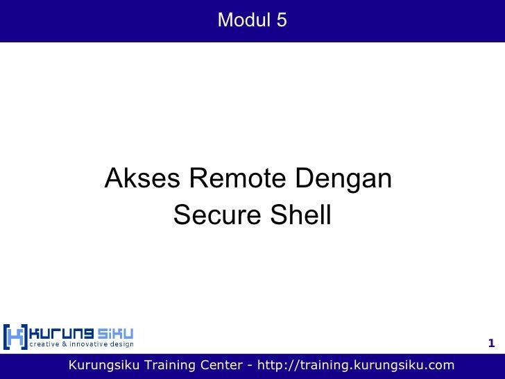 Modul 5 - akses remote dengan secure shell.pdf