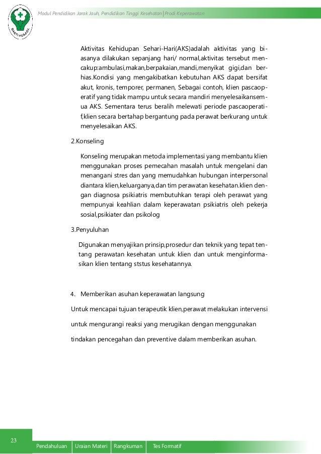 hubungan psikologi dalam keperawatan Dalam praktik keperawatan, komunikasi adalah suatu alat yang penting untuk membina hubungan terapeutik dan dapat mempengaruhi kualitas pelayanan keperawatan lebih jauh, komunikasi sangat penting karena dapat mempengaruhi tingkat kepuasan pasien terhadap pelayanan kesehatan yang diberikan.