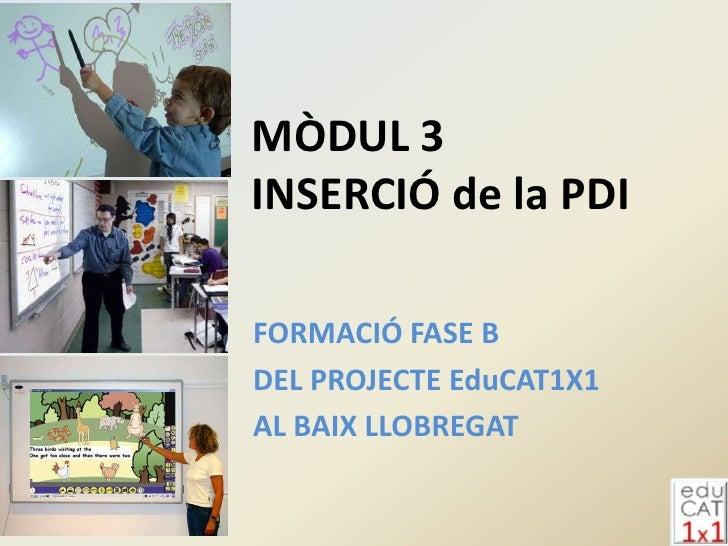 Modul3 insercio pdi