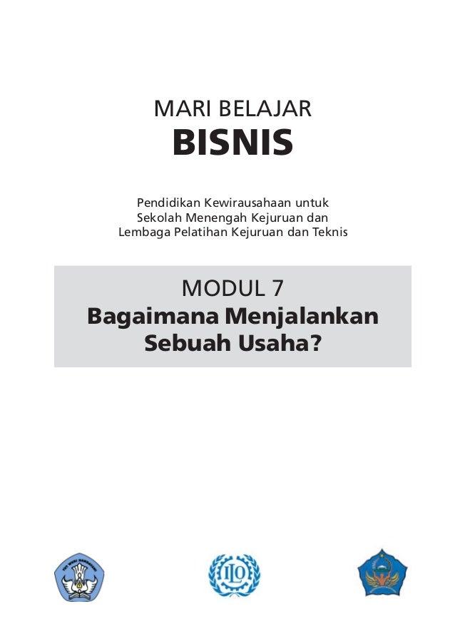 MARI BELAJAR          BISNIS     Pendidikan Kewirausahaan untuk     Sekolah Menengah Kejuruan dan  Lembaga Pelatihan Kejur...
