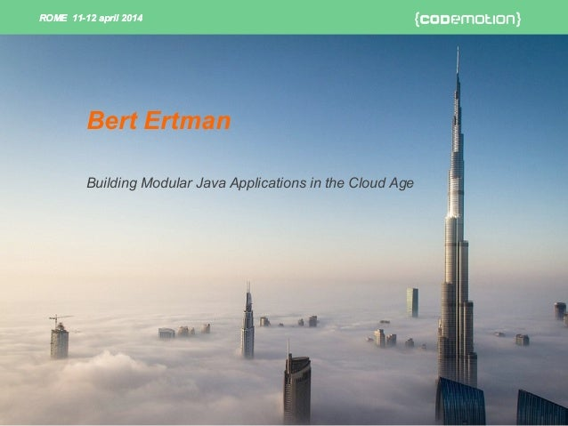 Building modular Java application in the cloud age - Ertman