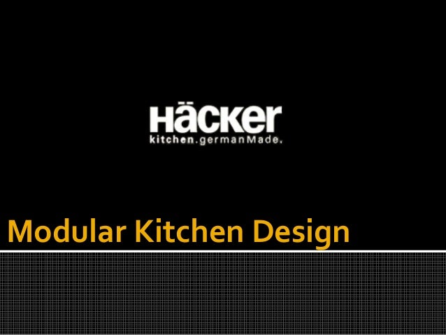 Modular Kitchen Design Ppt