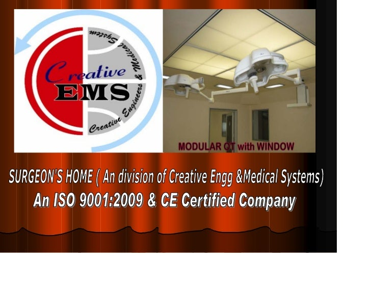 Offering a wide range of medicalequipments like Pre-FabricatedModular Operation Theatres,ICUs, Light Integrated Plan airSy...