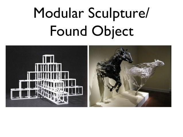 Modular Sculpture/  Found Object