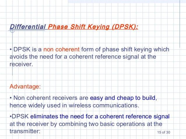 phase shift keying modulation pdf
