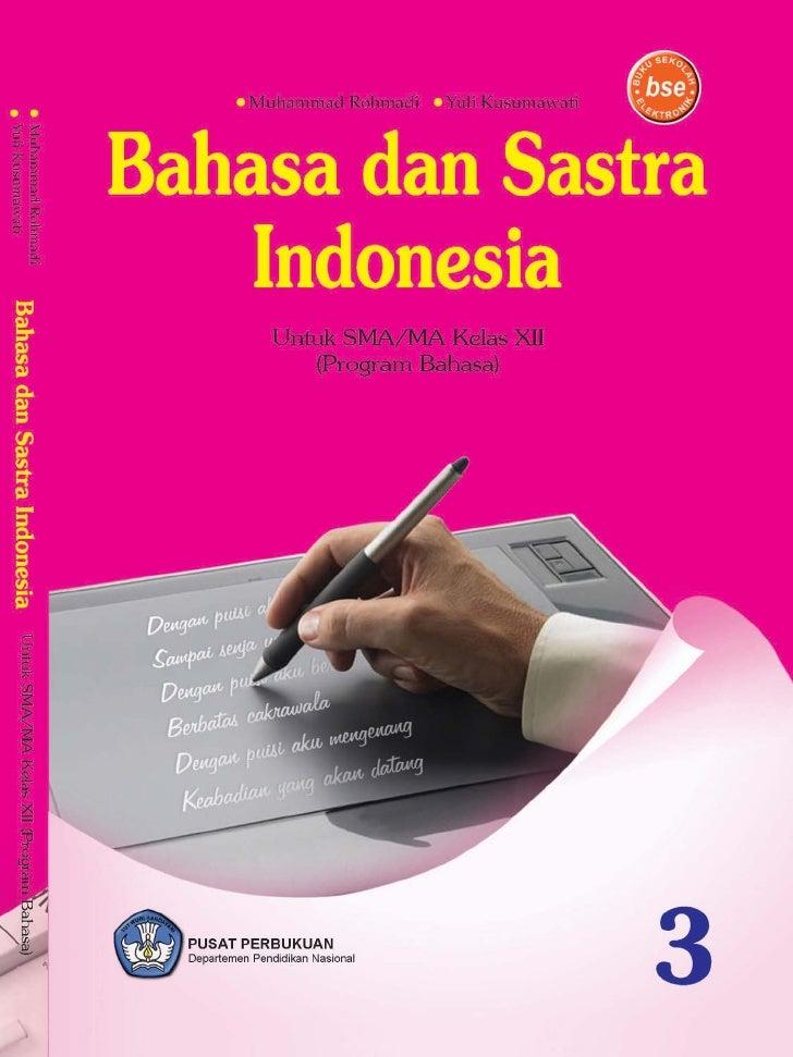 Modul Bahasa Indonesia Kelas 12