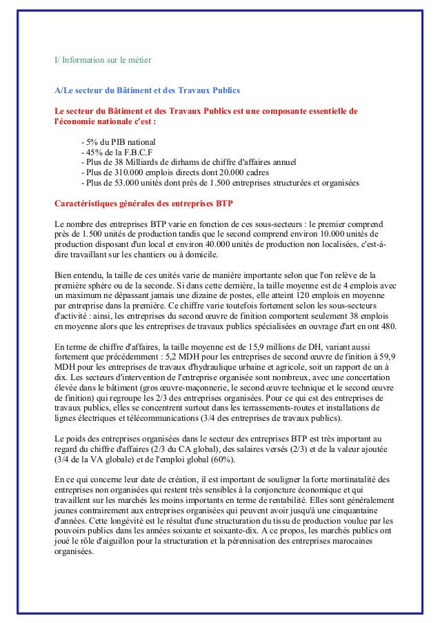 Module 01 metier et formation btp tcctp - Indice national des salaires du btp ...