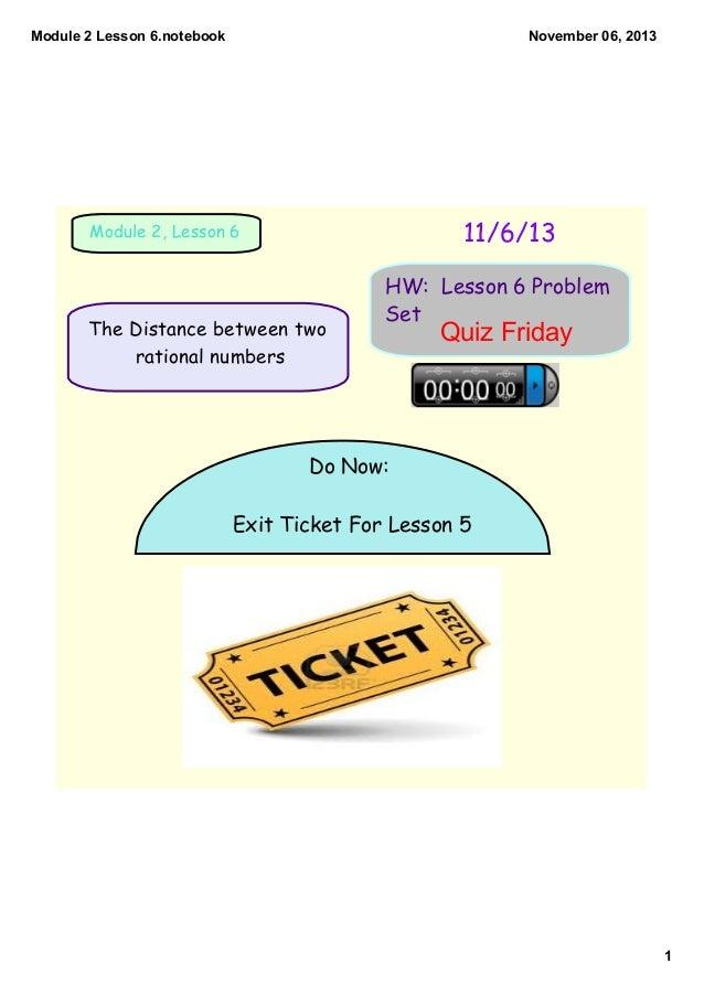 Module 2 lesson 6