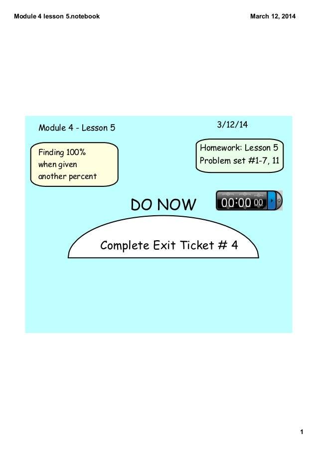 Module 4 lesson 5
