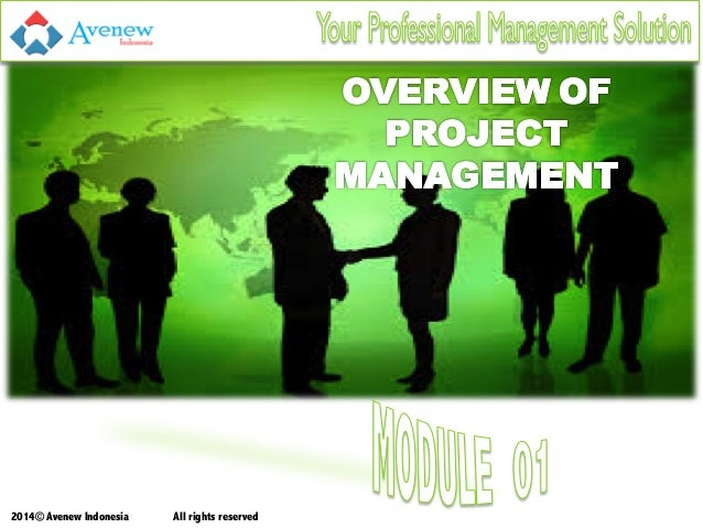 Project Management Training in Indonesia - Module 1