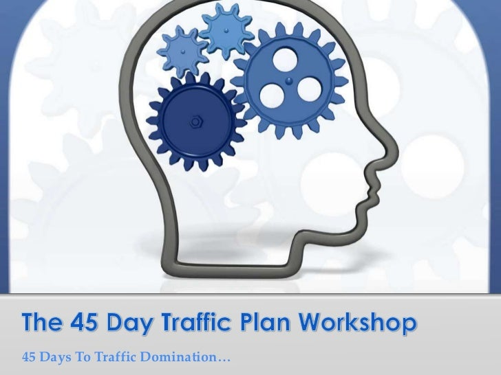 The 45 Day Traffic Plan Workshop<br />45 Days To Traffic Domination…<br />
