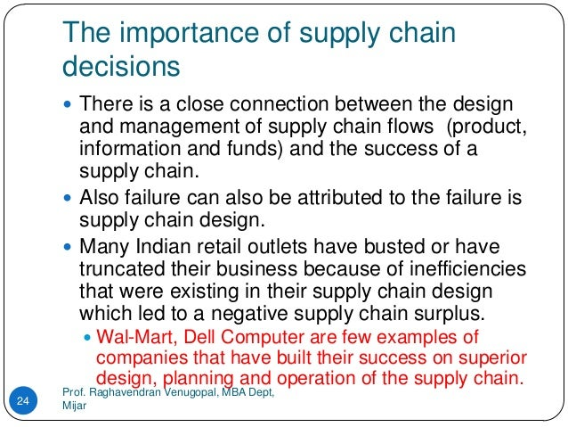 significance of a supply chain in With this backdrop, there is an increasing focus on supply chain management as  a means to minimize risk, optimize operating costs, improve revenue, improve.