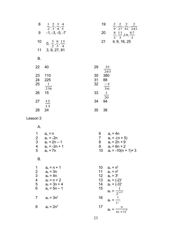 number patterns grade 10 pdf