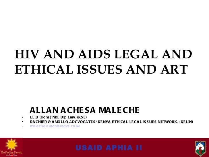 Module 10   hiv-aids legal & ethical issues