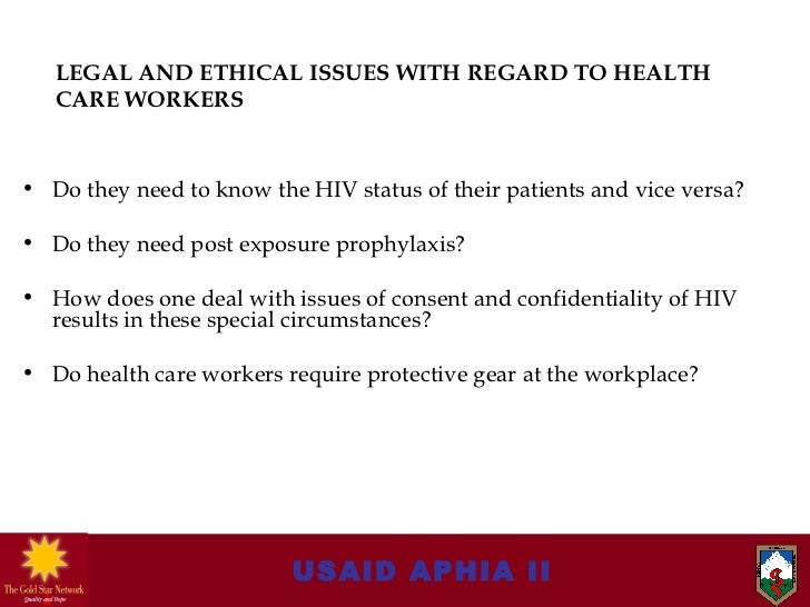 ethical and legal issues in health  ethical health care issues sheri anderson hcs/545-health law and ethics september 22, 2014 kenneth pincus ethical health care issues healthcare ethics involves.