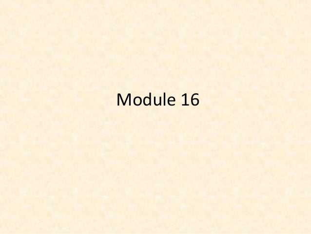 Module 16 - People of Note
